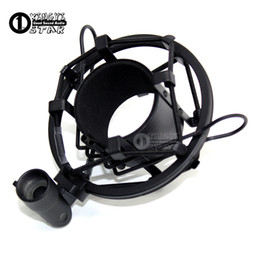 $enCountryForm.capitalKeyWord Canada - Professional Condenser Microphone Holder Clamp Mike Metal Shock Mount Clip SHOCKMOUNT Stand For PC Studio Record Video Pop Filter Windscreen