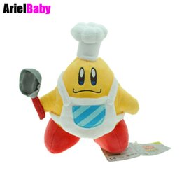 $enCountryForm.capitalKeyWord Canada - New Super Mario Little Buddy Kirby Cook Plush Toy Chef Cooking Baby Dolls 20cm Anime Juguetes Brinquedos Kids Gift