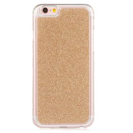 $enCountryForm.capitalKeyWord NZ - Fashion Bling Glitter case coque fundas For iPhone 7 Cover Soft TPU Frosted Matte shimmering powder Mobile Phone Cases For iPhone 8