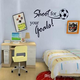 $enCountryForm.capitalKeyWord Canada - Wall Stickers Football Series Creative Removable Decal For Kid Room Nursery PVC Non Toxic And Tasteless Home Decor Mural 1 9hl J R