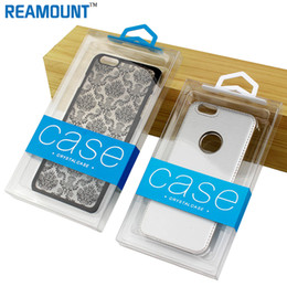 $enCountryForm.capitalKeyWord Australia - Wholesale Custom Logo Transparent PVC Packaging Box For Phone Case for iPhone 7 7 Plus Retail Plastic Crystal Clear Package Packing