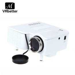 Shop video business cards uk video business cards free delivery to wholesale popular uc28 style led projector protable video projector support 1080p with tf card home theater mini projector white black reheart Images