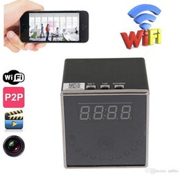 $enCountryForm.capitalKeyWord Canada - HD 1080P Square Shape Clock camera Wireless Wifi Clock Mini DV DVR digital Video Recorder Baby monitor support motion detection
