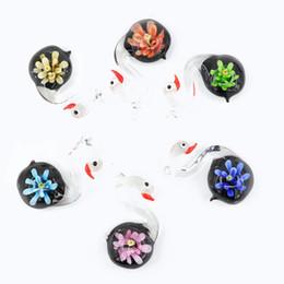 $enCountryForm.capitalKeyWord Australia - For Necklace Making DiyLampwork Glass Charm Pendants Hot selling Fashion murano 12 pcs   box For Jewelry Making Diy MC0090