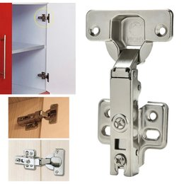 High Quality Wholesale  Soft Close Full Overlay Kitchen Cabinet Cupboard Hydraulic Door  35mm Hinge Cups