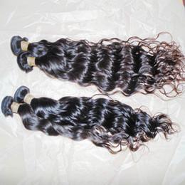 $enCountryForm.capitalKeyWord NZ - Splendid Luster 8A Raw Virgin Water Wave Indian Bouncy Human Hair Beach Curl Bossy Wave 4 bundles 400g fast deals