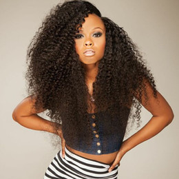 Discount natural looking hair weaves 2017 natural looking hair virgin human hair lace wigs curly natural looking glueless full lace wigs real malaysian afor kinky curly weave lace front wig pmusecretfo Gallery