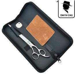 Smith Chu 5.5 Inch Professional Hairdressing Cutting Scissors Haircut Shears Japan 440c Salon Sharp Edge Hair Tijeras Lzs0066 Hair Care & Styling Beauty & Health
