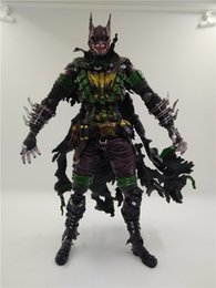 Dc Cómicos Batman Baratos-LilyToyFirm Movie <b>DC comics Batman</b> Rogues Gallery Joker Figura de Acción 28cm PVC Play Arts Kai Kids Toy Modelo de Colección