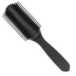$enCountryForm.capitalKeyWord UK - High Quality 9 Line Neat Teeth Detangling Hair Row Comb Air Bag Massage Hairbrush Men Fashion High-end Molding Hair Comb For Stylist