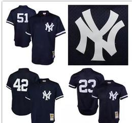 finest selection d8854 2c98f new york yankees 51 bernie williams 1995 mesh batting ...