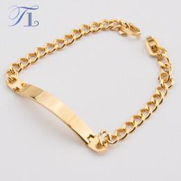 18k Gold Id Bracelet Online 18k Gold Id Bracelet for Sale