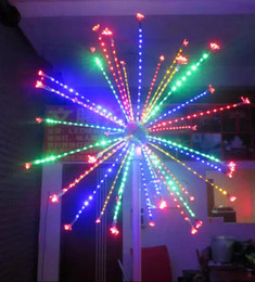 china free ship 2m 66ft height led outdoor christmas decorative led fireworks light christmas light