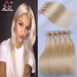 Discount high quality hair extensions wholesale 2017 high blonde hair weave bundles 613 brazilian straight hair human hair extensions 3 pcs high quality blonde straight bundles affordable high quality hair pmusecretfo Image collections