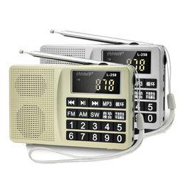 $enCountryForm.capitalKeyWord Australia - Wholesale-New Arrival L-258 FM AM SW Radio Recorder Bass Sound MP3 Music Player Multimedia Mini Speaker Portable Radio Receiver W Battery