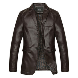 Faux motorcycle jacket online shopping - High Quality Mens Jacket Winter Autumn Brand PU Leather Jacket Men Motorcycle Overcoat Large Size