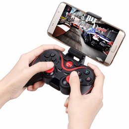 Joystick for tablet online shopping - Wireless Gaming Control Joystick Holder Bluetooth Game Controller for iOS for Android Phones Tablet PC Gamepad Terios S3 Holder