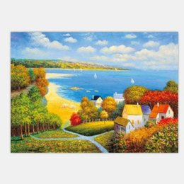 Discount one living room - Oil Paintings Decoration Wall Art Unframed Printed Printing Room Print Decorative Picture Decor Living Nature Bedroom Sc