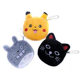 $enCountryForm.capitalKeyWord NZ - Wholesale- Hot cartoon super soft black cat purse mini wallet for children