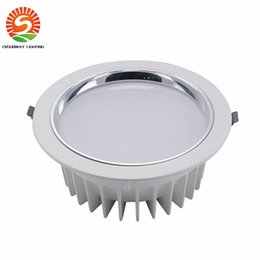 Discount factory beds direct - 12W downlights Factory direct sales 10PCS LED downlight bathroom lighting LED silver Recessed lamps DHL longer lifespan