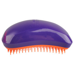 China Professional Salon Elite Hair Brush Portable Magic Antistatic comb Hair Probucts Detangle tangle Hair Brush Styling Wholesale 3006016 cheap hair massage comb suppliers
