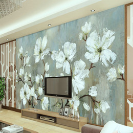 $enCountryForm.capitalKeyWord Australia - 3d custom photo wallpaper wall murals wall stickers New Flowers TV Background Wall European style Modern minimalist style