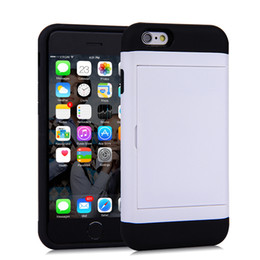 $enCountryForm.capitalKeyWord UK - Cell phone case for iphone6 iphone 6plus 4.7 5.5 with Card Slot Design cheap price
