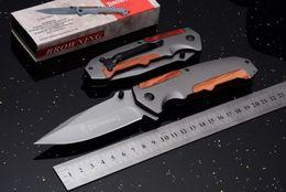 $enCountryForm.capitalKeyWord Australia - Browning Huge F67 Titanium Tactical Folding Knife 7Cr17Mov Flipper Outdoor Camping Hiking Hunting Survival Military Utility EDC Tools