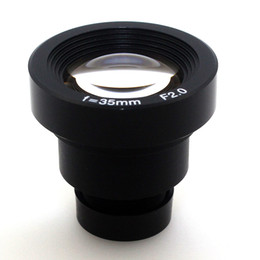 Wholesale 1 mm CCTV Lens IR MTV m12 Mount F2 For Security Video CCTV Cameras