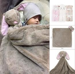 fall bedding 2019 - Baby blanket Swaddles Swaddling Velvet Animal toy warm Fall winter Elephant 2016 Ins Wraps Blankets Comfort Bedding Newb