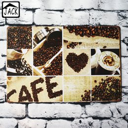 Coffee Housing Australia - Coffee Beans Vintage Poster Metal Tin Sign House Club Bar Decor Pub Restaurant Cafe Plaque Lounge Plate 20*30CM