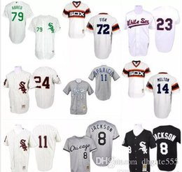 f60efc055 ... 2017 Chicago White Sox Throwback Jersey 14 Bill Melton 23 Robin Ventura  79 Jose Abreu Mens ...