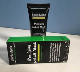 Black Peel Off Mask Blackhead Canada - Shills Peel-off face Masks Deep Cleansing Black MASK 50ML Blackhead Facial Mask 2017 Hot Sale Cosmetics gift for woman