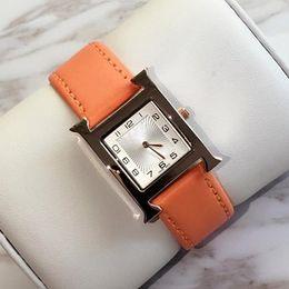 2019 donne di lusso orologi in pelle rossa oro rosa signore di modo orologio al quarzo dress watch orologio donna montre femme reloj mujer dropshipping