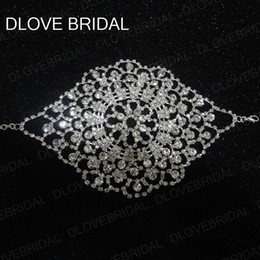 Wholesale wedding dress used resale online - Luxury Multifunctional Bridal Jewelry Bracelet Hairband Arm Accessory Also Can Use As Garter Belt Evening Prom Wedding Dress