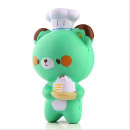 $enCountryForm.capitalKeyWord Canada - Kawaii Squishy Chef Bear Soft Collectibles Slow Rising Cartoon Kids Toy Doll Bread Cake Doll Decompression Pressure Relief