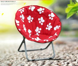 Portable Furniture Chairs Canada - Wholesale- Beach Chairs Outdoor Furniture moon chairs portable adjustable foldable casual chairs oxford fabric+aluminum 80*35*75cm 2016 new