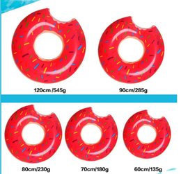 $enCountryForm.capitalKeyWord NZ - 48Inch giant Water sport swim pool float donut swim ring lift buoy Strawberry swimming rings pvc floating donut tubes for adult and kids