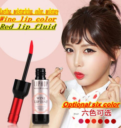 $enCountryForm.capitalKeyWord Canada - Red wine stained lips bite lip lipstick rouge liquid liquid water does not fade with waterproof lip gloss Lip Glaze