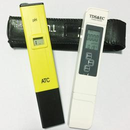 ЖК-цифровой 0.1 pH Pen pH Meter + TDS EC тест воды PPM фильтр гидропоники бассейн тестер на Распродаже
