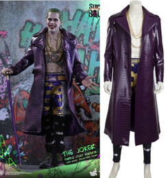 Wholesale Suicide Squad Joker outfit cosplay halloween costumes