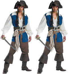 mens pirate costume cosplay captains clothing halloween mens team dress up uniform halloween cloth for men halloween costume set ups man uniform for sale - Ups Man Halloween Costume