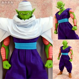 Barato Melhor Cosplay Filme-Top Action 22cm Anime New Dragon Ball Piccolo Super Saiyan Figura PVC 9