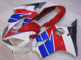 f4i full fairing Canada - Full Body Kits CBR F4i 06 07 ABS Fairing CBR600 F4i 04 05 White Red Blue Body Kits CBR600F4i 2007 2003 - 2007