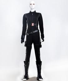 Discount captain america woman costume - Captain America Black Widow cosplay halloween costumes