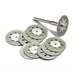 10 шт. / компл. 22 мм алмазные режущие диски инструмент для резки камня вырезать диск абразивы резки Dremel вращающийся инструмент аксессуары