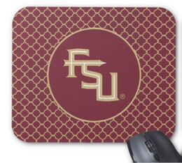 $enCountryForm.capitalKeyWord Canada - High quality wholesale factory direct 260*210*3mm fsu Seminoles mat non-slip rubber mouse pad high quality speed version