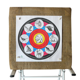 $enCountryForm.capitalKeyWord Canada - Wholesale 16 inch Animal Target Face Paper Shooting Practice Archery Bows Arrows Outdoor Hunting Target Paper