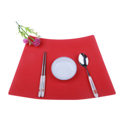 $enCountryForm.capitalKeyWord Canada - colourful place mat coffe mat Table Setting PlacematHot Selling! Wholesale Square Cheap Placemat High Quality Textilene Place