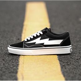 Venta al por mayor de Nueva Revenge x Storm Zapatos ocasionales negros Kendall Jenner mejor Calzado Ian Connor Old Skool Moda Zapatos actuales